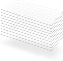 vidaXL Plexiglasskivor 10 st 60x120 cm 2 mm
