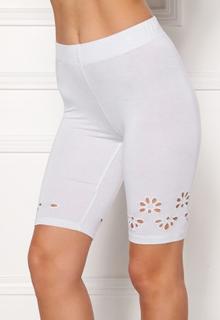 Happy Holly Flora Bike pants White 36/38