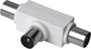 Hama antenne-fordeler koaksial-stik - 2 koax-koblinger Antenne Hama