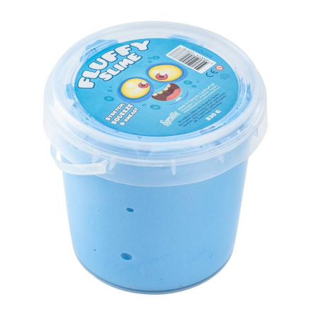 Spralla Fluffy Slime Sininen
