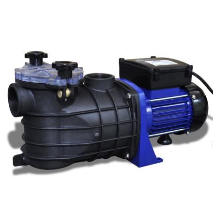 vidaXL Svømmebassin Pump Electric 500W Blå