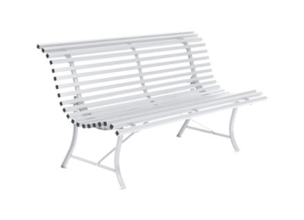 Fermob Louisiane Benk 150 cm-Cotton White