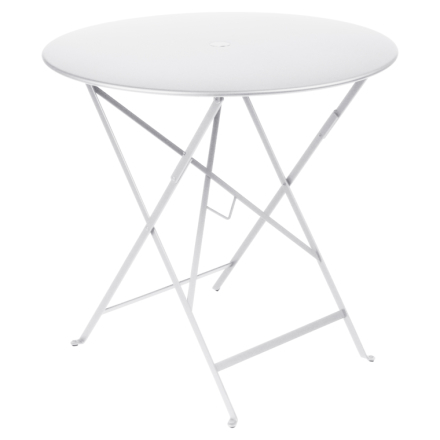 Fermob Bistro Metall Bord 77 cm-Cotton White