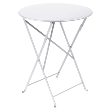 Fermob Bistro Metall Bord 60 cm-Cotton White