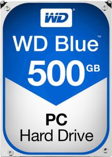 Intern harddisk 3.5 Bulk Western Digital Blue™ SATA III 500 GB