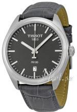 Tissot T101.410.16.441.00 PR 100 Gent Harmaa/Nahka Ø39 mm