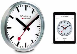 Vægur - Mondaine MSM.25S10 Smart Stop2go Bluetooth