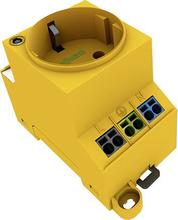 Kontaktskab-stikdåse WAGO 709-582 Gul 1 stk