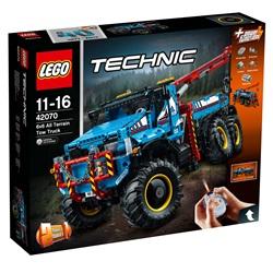 LEGO Technic Sekshjulet terrængående kranvogn 42070 - wupti.com