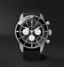 Breitling - Superocean Héritage Ii B01 Chronometer 44mm Stainless Steel And Rubber Watch, Ref. No. Ab0162121b1s1 - Black