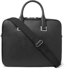Cadogan Full-grain Leather Briefcase - Black