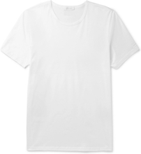 Cotton-jersey T-shirt - White