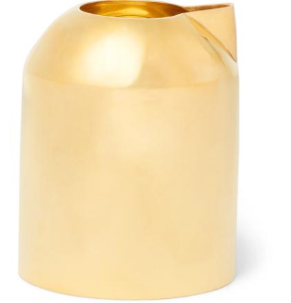 Form Brass Milk Jug - Gold