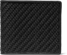 Pelle Tessuta Leather Billfold Wallet - Black