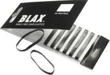 BLAX Haargummi Ohne Metall Schwarz 8 stk
