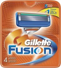 Gillette Fusion Rakblad 4 st