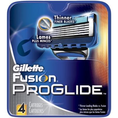 Gillette Fusion Proglide Partateraet 4 kpl
