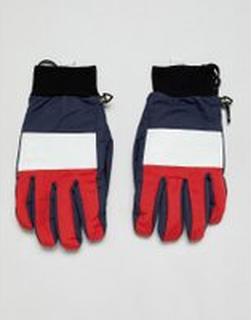 Analog Bartlett snowboard gloves in blue - Blue