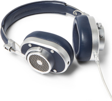 Mh40 Leather Over-ear Headphones - Navy