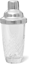 Barwell Cut Crystal Martini Shaker - Clear
