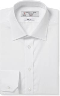 White Cotton Shirt - White