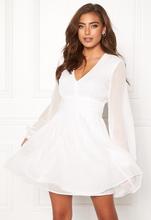 BUBBLEROOM Dahlia dress White 34