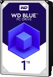 Intern harddisk 2.5 Bulk Western Digital Blue™ Mobile SATA III 1 TB
