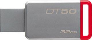 Kingston DT50 USB-flashdrev 32 GB Sølv DT50/32GB USB 3.1