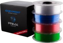 Prima PrimaCreator EasyPrint PETG 1.75mm 4x500g Værdi Pakke