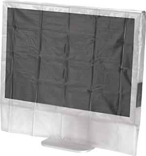 Hama skærm støvbeskyttelsesskærm, 61 cm - 66 cm, 24 - 26 tommer, transparent Hama 84183 Transparent