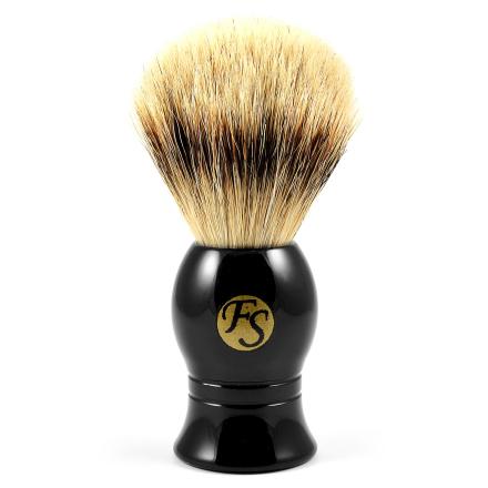 Svart Klassisk Silvertip Barberkost