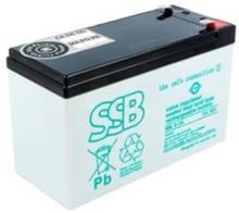 SBL 9-12L rechargeable battery 12V/9Ah T2 Strømforsyning (PSU) - 80 Plus