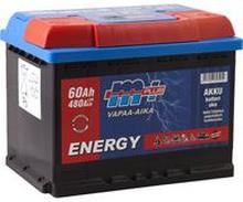 Akku 12V 60Ah, vapaa-aika - M+ Energy