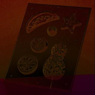 Gjutform - frukt 3-12 cm