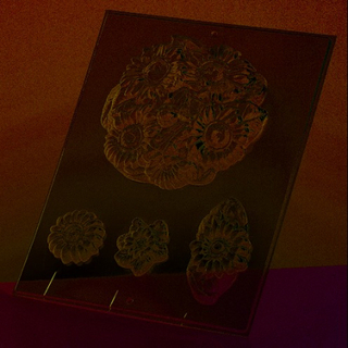 Gjutform - solrosor 13,5 cm
