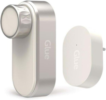Home Smart Lock + WiFi Hub - Assa Left - White