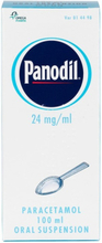 Panodil oral suspension 24 mg/ml 100 ml