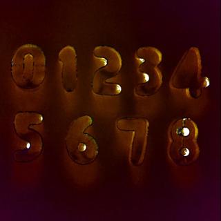 Kakform ø 10 cm / 3,5 - 4 cm - 10 delar Nummer