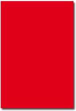 Pollen Brevpapper A4 - 50 st - Intensiv röd