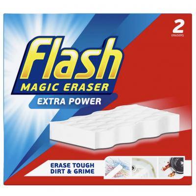 Flash Magic Eraser Extra Power 2 kpl