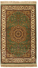 Nahal - Grön matta 100x160 Orientalisk Matta