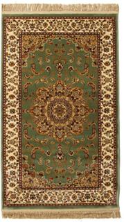 Nahal - Grønn teppe 100x160 Orientalsk Teppe
