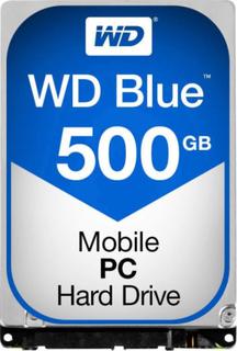 Intern harddisk 2.5 Bulk Western Digital Blue™ SATA III 500 GB