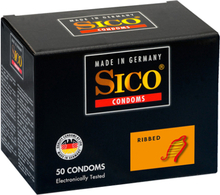 Sico Ribbed - 50 Condoms