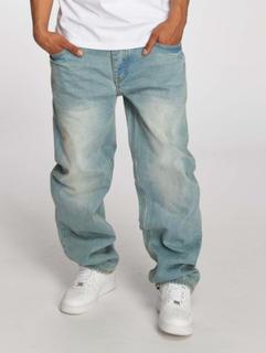 Ecko Unltd. Mænd Loose Fit Jeans Hang i blå, W 50 L 34