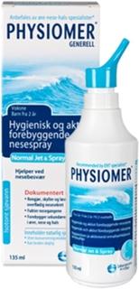 Physiomer nesespray jet strong -restnotert forventet uke 5