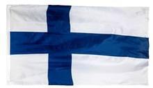 Suomi Lippu - Valkoinen/Sininen