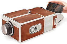 Portable Family / Couple Theater Film Cardboard Phone Projector