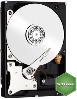 Intern harddisk 3.5 Bulk Western Digital Green SATA III 3 TB