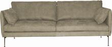 Kaxås 3-sits soffa Kenia taupe